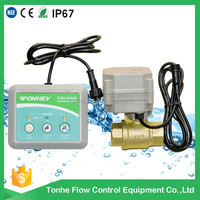 electric automatic valve water leak detection detector water leak controller