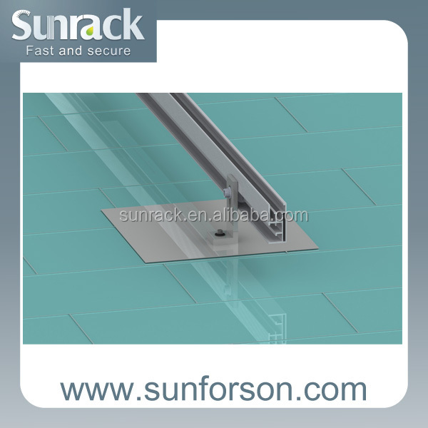 Asphalt shingle Pitched roof solar mounting system