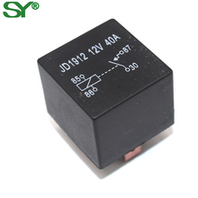 SHUNYU 4pin 5pin auto relay 12V 40a with backrest for sale