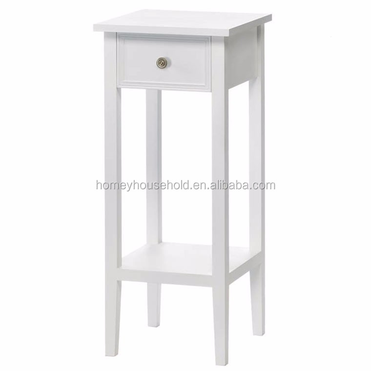 European style decorative white flower stand/wooden plant stand
