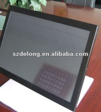22inch all in one LCD panel PC with touch/5 wire resistive touch/D525CPU/2GRAM/320G HHD/wifi build in