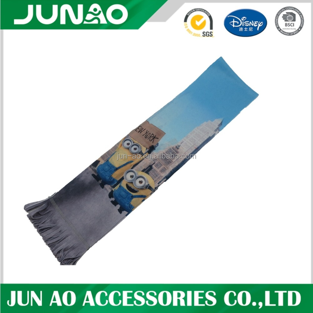 Customized Sublimation Priting Winter Scarf