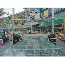 Hot Sale Modular Glass Stage For Concert & Fashion Show