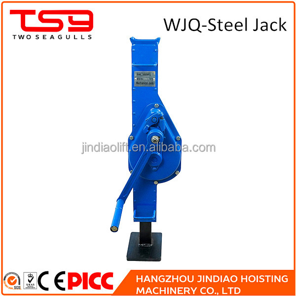 Orbit lifting hand crank types steel mechanical jack