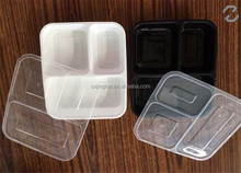 Wholesale 3 compartment microwave safe food container