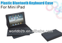 PU leather case with bluetooth keyboard for ipad mini