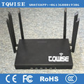 TQWISE t2.4G 5.8G double wifi OEM ODM Openwrt MTK76201 industrial 4g router with SIM card slot