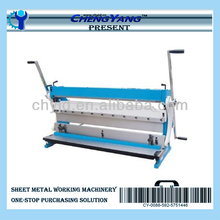 Hand Combination Shear Bend Slip Roll 3 in 1 Machine for Metal Sheet