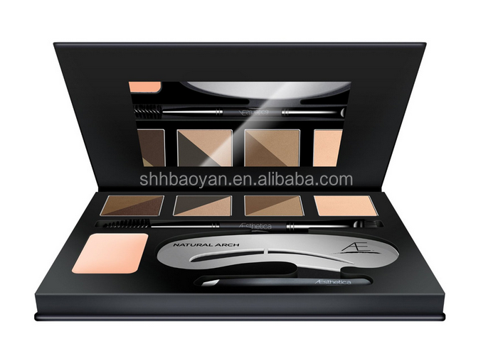 New Arrived Aasthetic Cosmetics Brow Contour Kit Double Colours Gel eyebrow