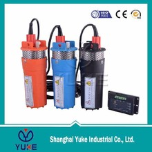 best price 12V/24V DC submersible Deep well solar pump