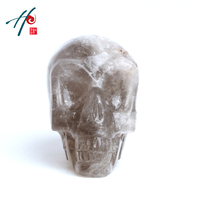 100% Life size quartz China made crystal skull as gift
