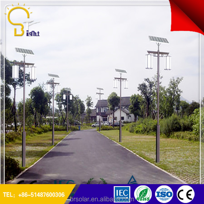 high lumen double lamp street light two arms China LED light supplier