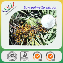 free sample ACCP Kosher FDA pure natural 45% fatty acid saw palmetto fruit extract