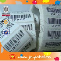 Adhesive clothes barcode label printer,print price label