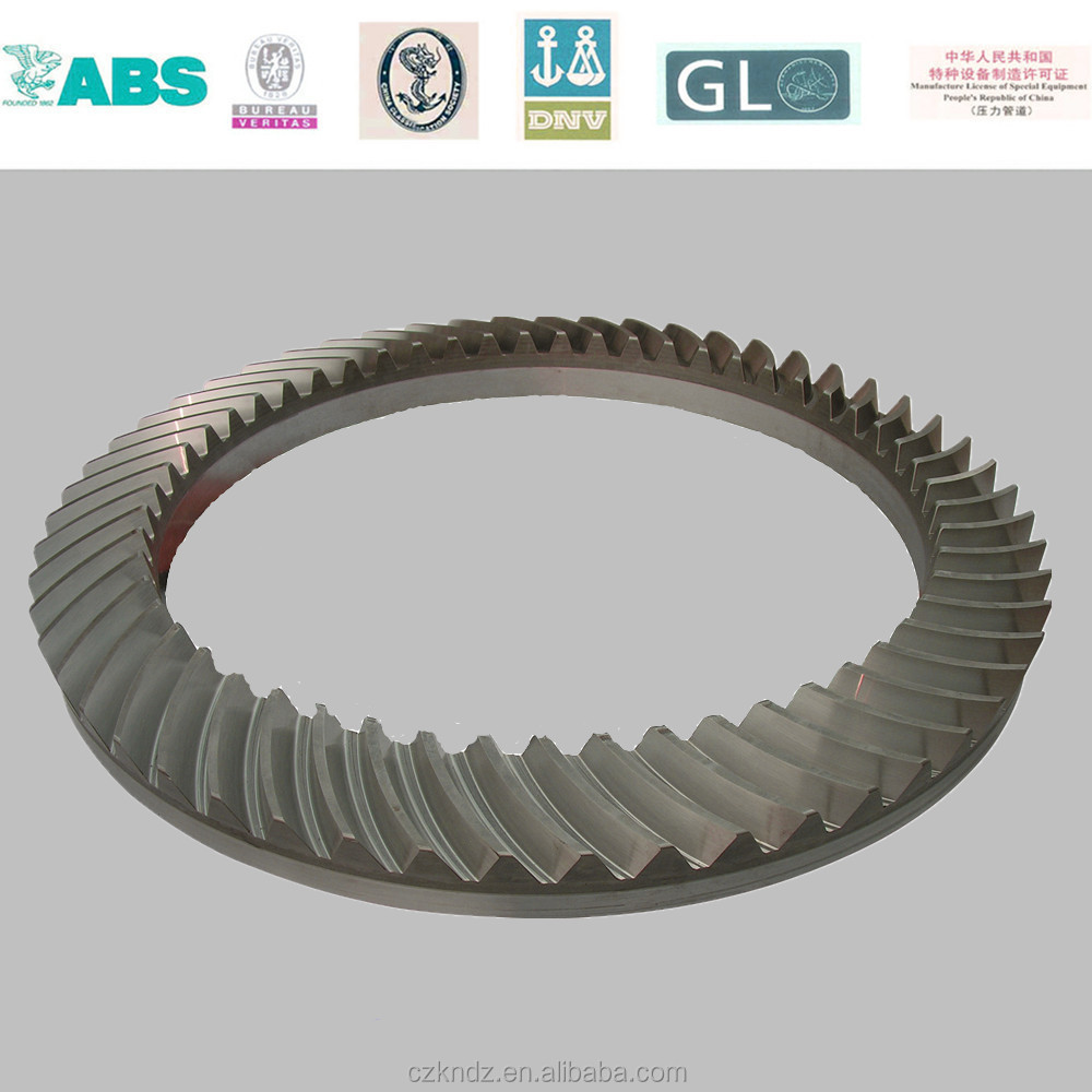 large steel gear for machine