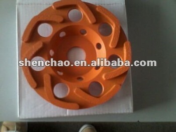 high frequency L SEGMENT CUP WHEEL