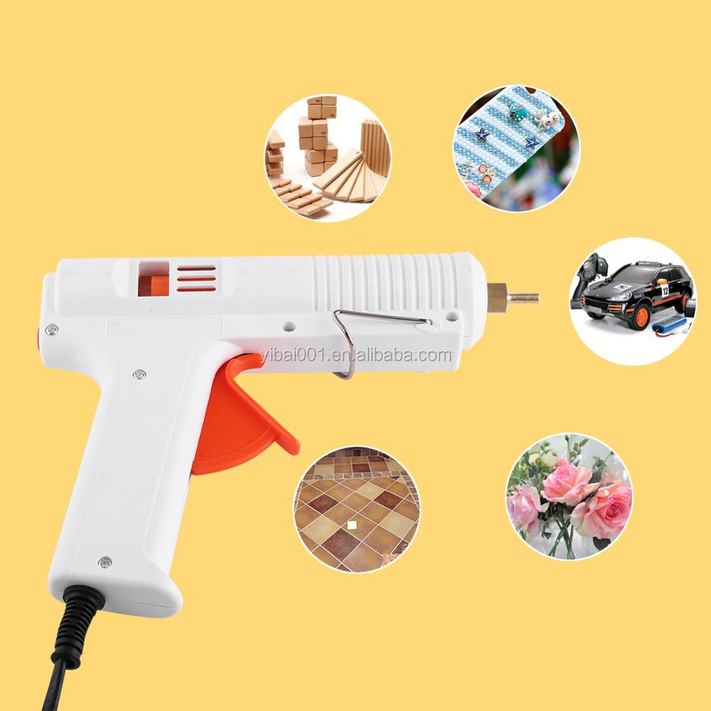 Professional 120W 100-240V Adjustable Hot Melt Glue Gun Electric Heat Temperature Graft Repair Tool Fit 11mm Glue Stick