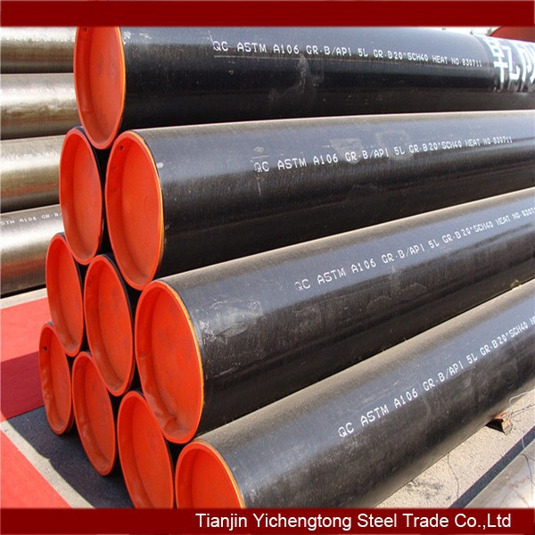 ASTM A106 and seamless carbon steel casing pipes