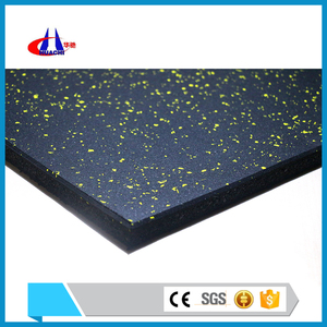 Low price 30mm thickness swimming pool rubber gym mat supplier