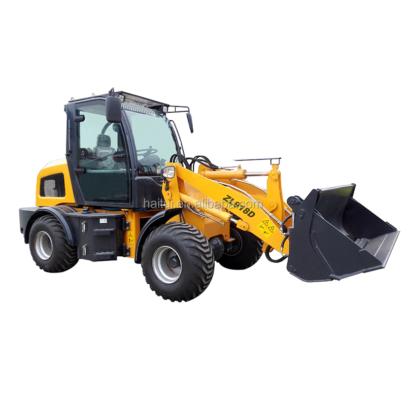 2017 Chinese articulated structure mini backhoe loader for sale