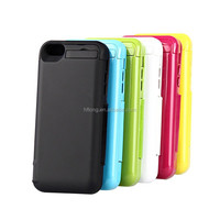OEM 4200Mah External Power Bank Charger Battery Case For iPhone 5G 5S 5C