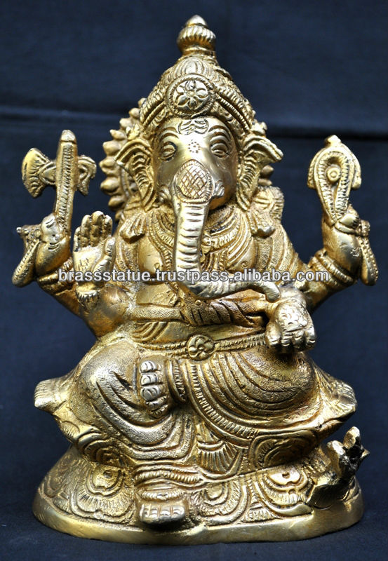 Bronze statue of lord ganesh