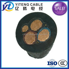 450v/750v YC/YZ/YCW Flexible Rubber Cable MIne Cable