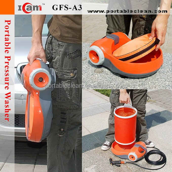 60W high pressure cleaning machines with folding bucket