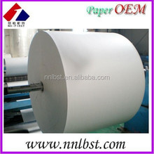 Jumbo Roll PE Coated Paper /Raw material for paper cup paper