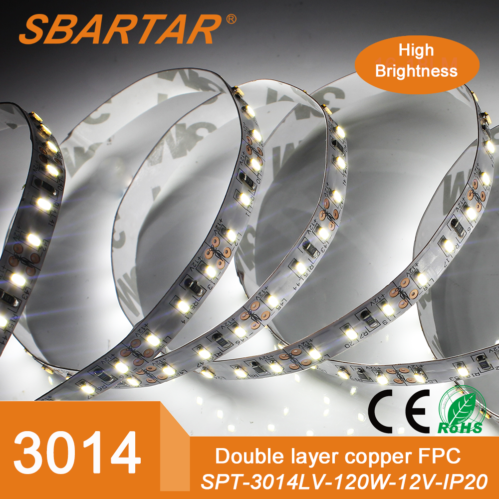 SMD 3014 LED 따뜻한 화이트 흰색 3m LED 조명 스트립 600 LED가 장식-LED ...