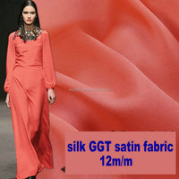 S6011005 12m/m 110cm silk Georgette satin fabric