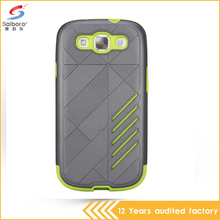 China manufacture Guangzhou Factory promotions low moq free sample case anti-shock case for samsung galaxy s3
