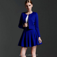 trendy business coat suit for women umbrella skirt