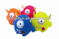 big tongue animal puffer ball,TPR soft toy