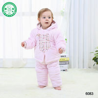 #6083** Hot Sale Baby Tracksuit Boys Girls Long Sleeve Shirt + Pant Sport Clothes Hoodies