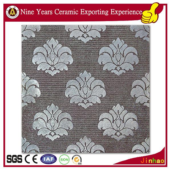 China tile manufacturers textured white glossy ceramic tile