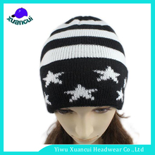 Fashion beanie custom funny knit winter hats lady beanie hat patterns knitting