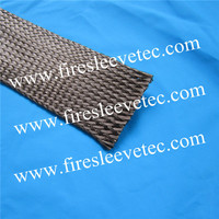 China High quality basalt fiber cable protection sleeving/insulation sleeve
