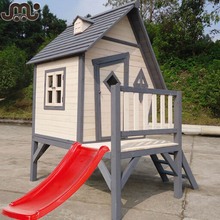 Outdoor fun time kids playhouse with windows