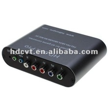 Hot Sale YPBR to VGA converter Adapter (Upscaler)