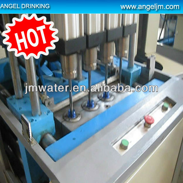 4 cavities semi auto bottle blowing machine,pet bottle blowing machine