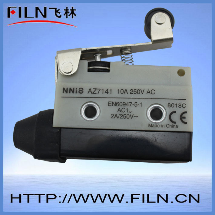 FILN 250V AC 10A plunger enclosed limit switch waterproof