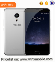 Good price 5.5 inch MEIZU pro 6 4GB 32GB cell /mobile/telephone Andriod phone