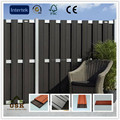 waterproof 150mm*8mm wpc european standard wpc fence board for fence