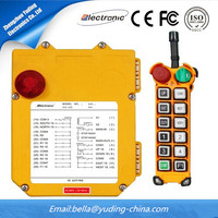 long distance control concrete pump truck radio remote control F24-12s with FCC ,CE ,ISO9001