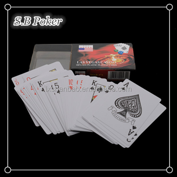 Good price plastic playing cards, OEM poker cards