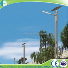 High quality motion sensor led solar street light with long lifespan
