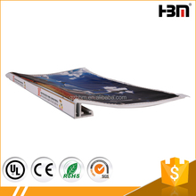 6 meter 17MM 6063 alloy aluminum poster profile frame for fabric light box