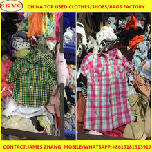 Fashionable and high quality vintage used clothing export for all season