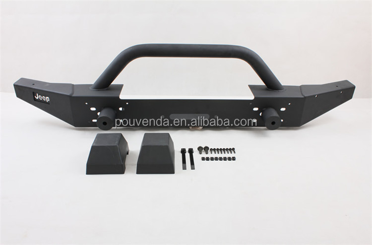 4x4 auto accessories Front Bumper off road Bumper Guard For Jeep Wrangler JK 2007-2014